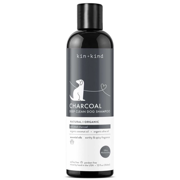 Organic Charcoal Deep Clean & Deodorizing Dog Shampoo