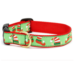 Christmas Elves Dog Collar