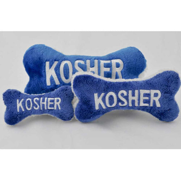 Kosher Bone Plush Dog Toy