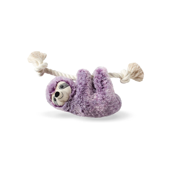 Sloth on rope toy