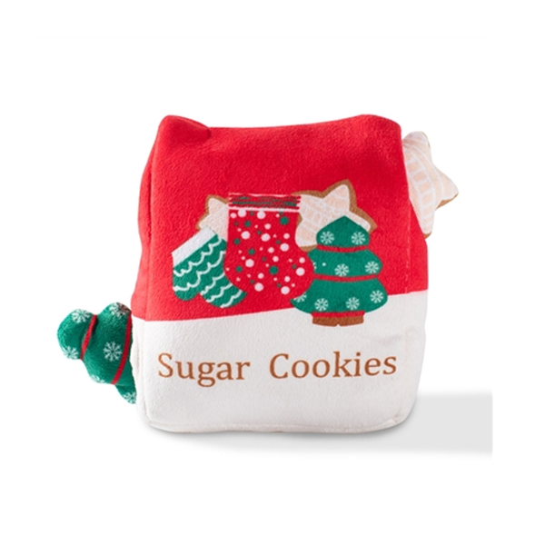 Sugar Cookies Hide & Seek Holiday Dog Toy