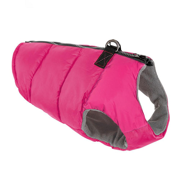 Solid Padded Vest Dog Coat