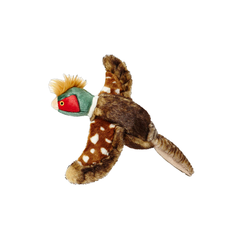 Ike the Pheasant Plush Dog Toy