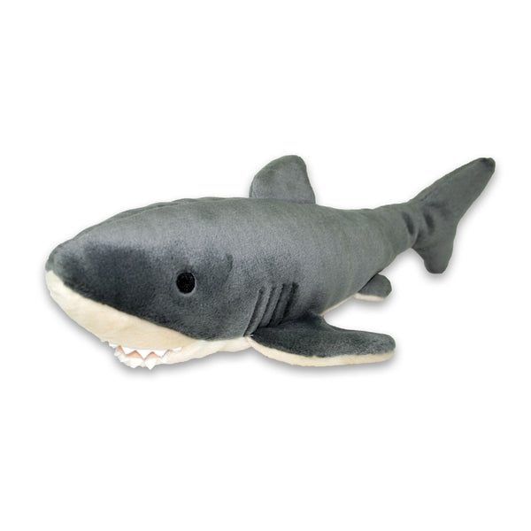 Mac the Shark Plush Dog Toy