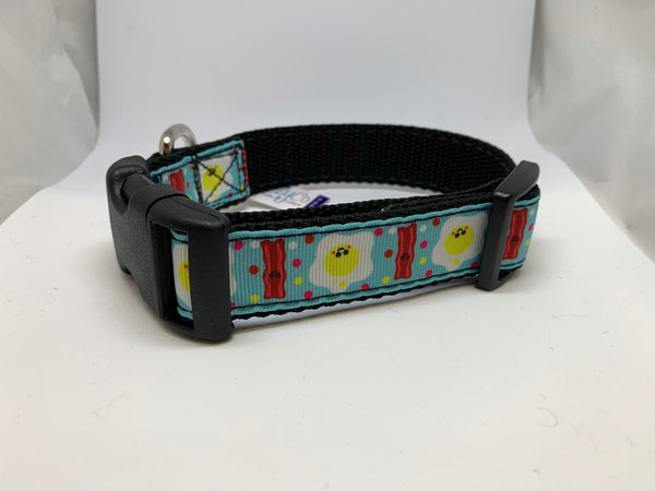 Bacon and Eggs Dog Collar