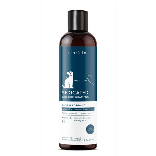 Organic Medicated Shampoo for Itchy Pets