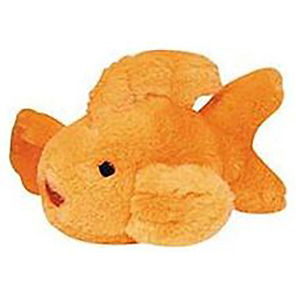 Look Who's Talking Gold Fish Dog Toy Available at Lola & Penelope's
