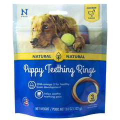 N-Bone Chicken Natural Puppy Teething Rings