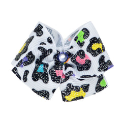 Crystal and Ribbon Dog Hair Bows - Lola & Penelope's