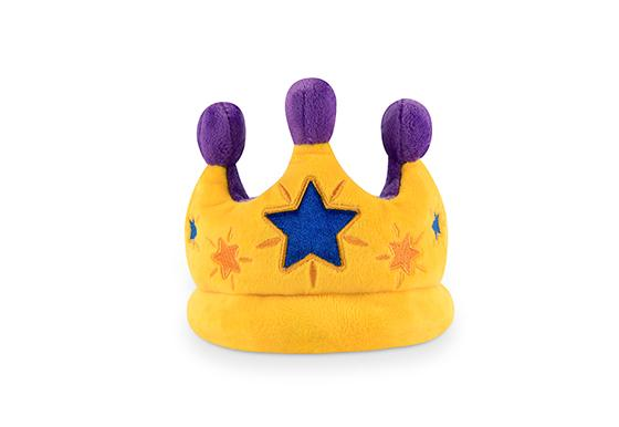 Canine Crown Plush Dog Toy
