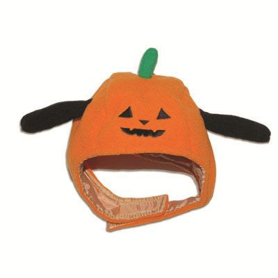 Pumpkin Halloween Dog Hat