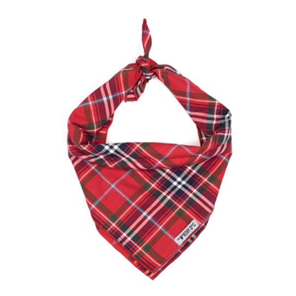 red dog plaid bandana