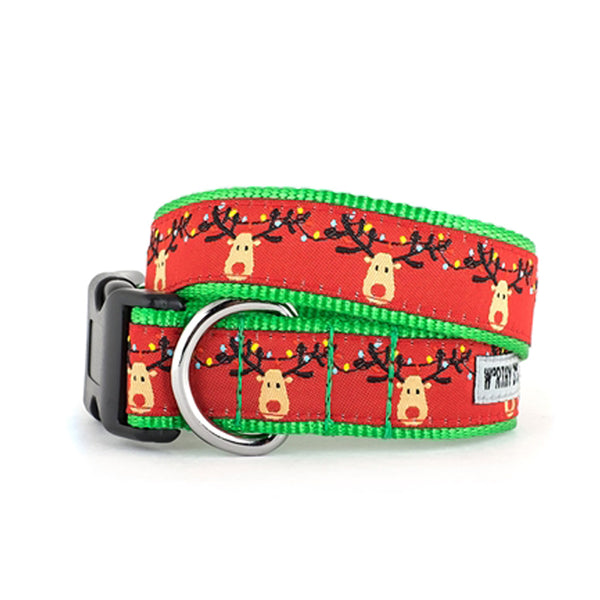 rudy holiday dog collar worthy dog