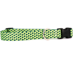 Petite Shamrock St. Patrick's Day Dog Collar