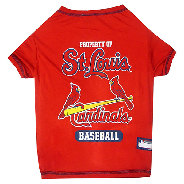Saint Louis Cardinals Dog T-Shirt
