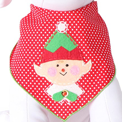 Christmas Elf Holiday Dog Bandana