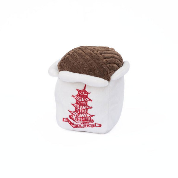 NomNomz Chinese Take Out Plush Squeaker Dog Toy