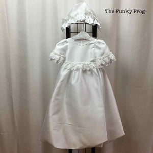 Princess Daliana White Solid Child Size 9 m Girl's Formal Wear