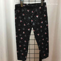 jumping beans Black Patterned Child Size 5 Girl's Leggings