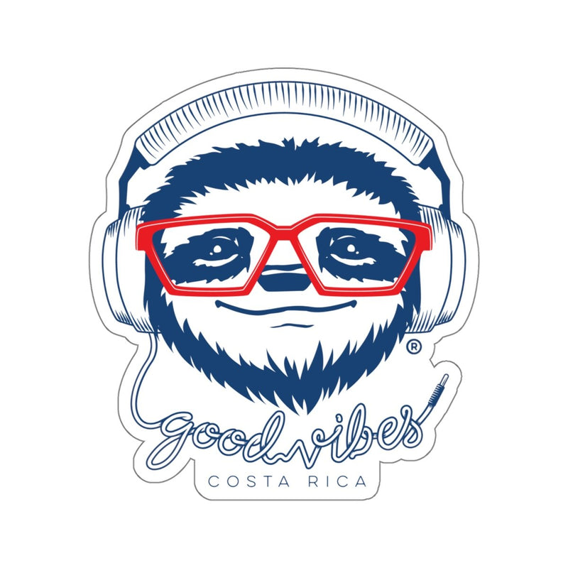 Good Vibes Die-Cut Sticker - Slothtoescr
