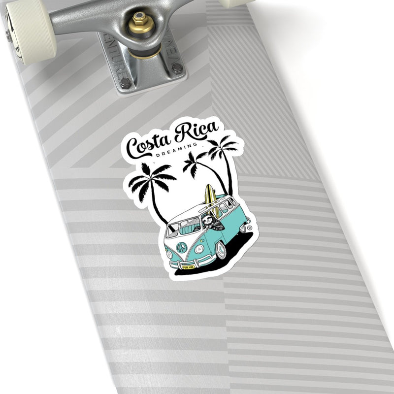 Costa Rica Dreaming Die Cut Sticker - Slothtoescr