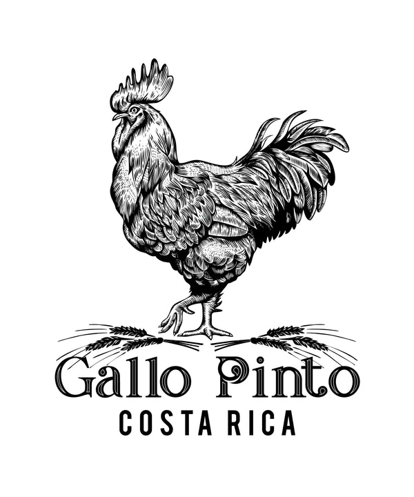 Gallo Pinto Sticker