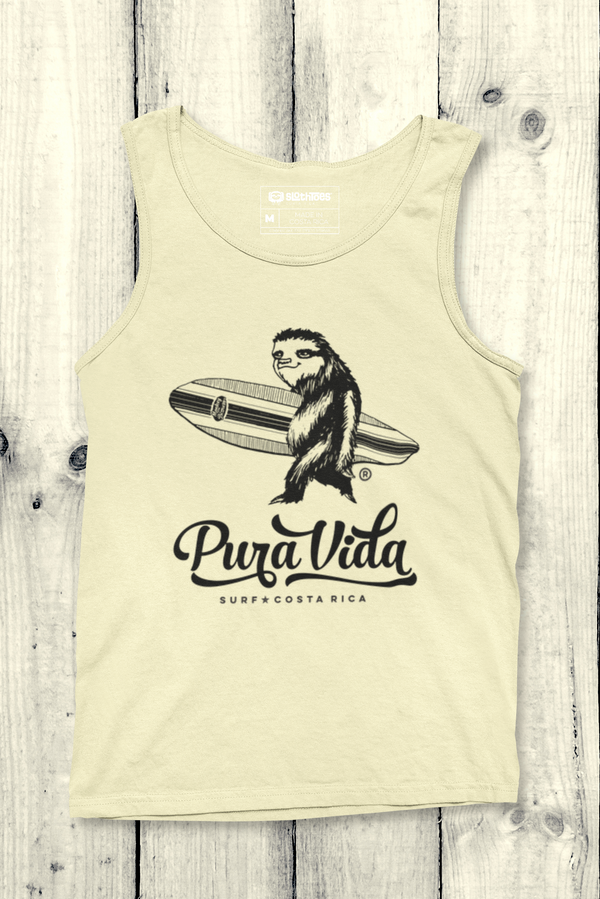 Surfing Sloth Jersey Tank