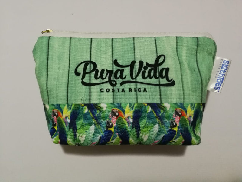 Surfer Macaw Mini Cosmetic bag