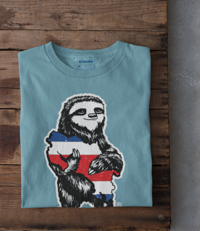 Costa Rica Sloth Short Sleeve Tee