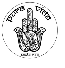 Hamsa Hand White Die-Cut Sticker - Slothtoescr