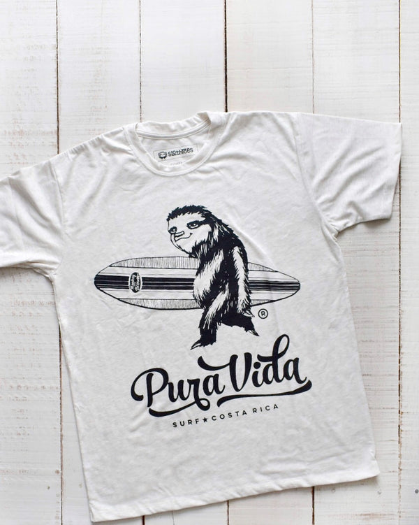Surfing Sloth Men's Short Sleeve Tee