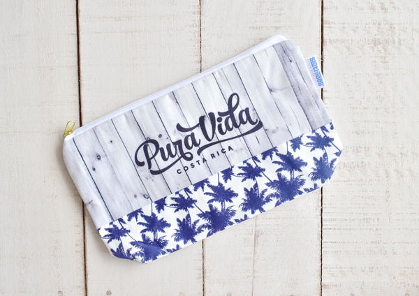 Good Vibes Large Cosmetic Bag