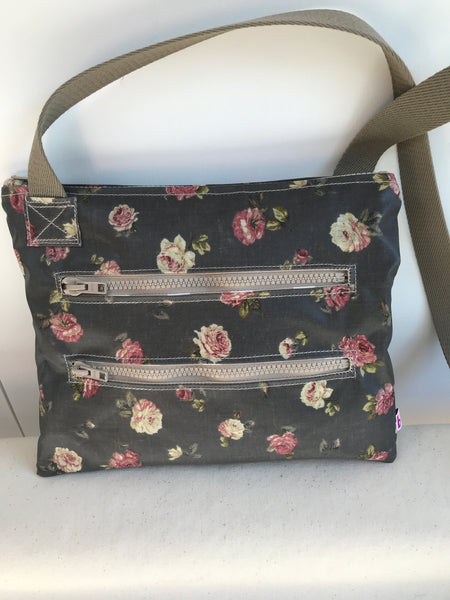 Vintage Rose Dog Walking Bag