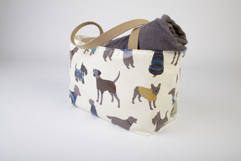 Blue Dog Beach Bag