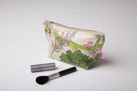 Country Linen Make up Bag
