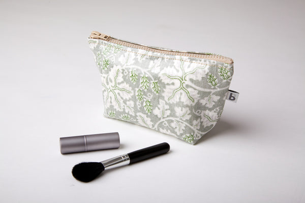 French Linen Make-up bag
