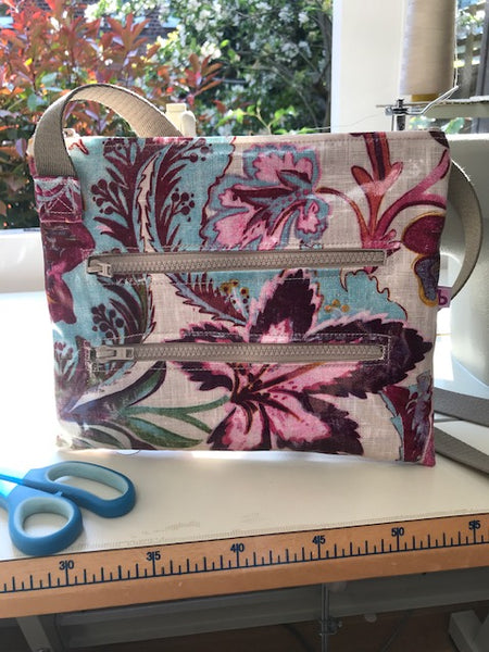 Exotic Floral Dog Walking Bag