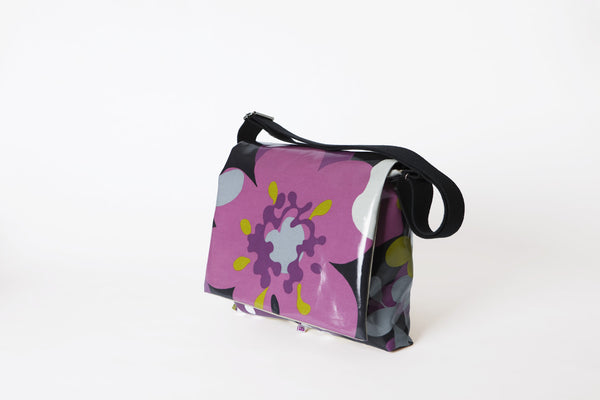 Purple Petal Shoulder Bag