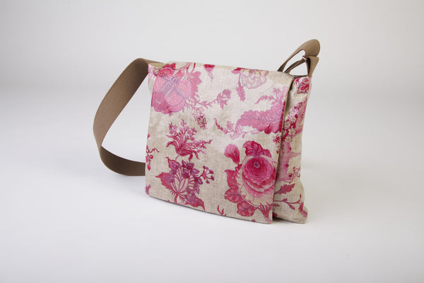 Pink Floral Shoulder bag