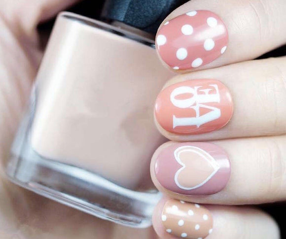 Quick Dip Love Polka Dots