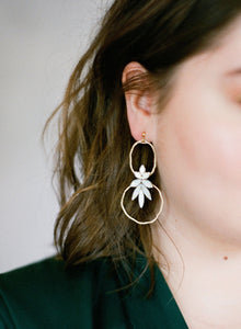 Magdalena Hoop Earrings (Ready to Ship)
