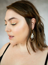 Load image into Gallery viewer, Magdalena Hoop Earrings in Silver PRE-ORDER