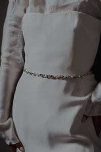 Milly Sash in Silver [New for 2021]