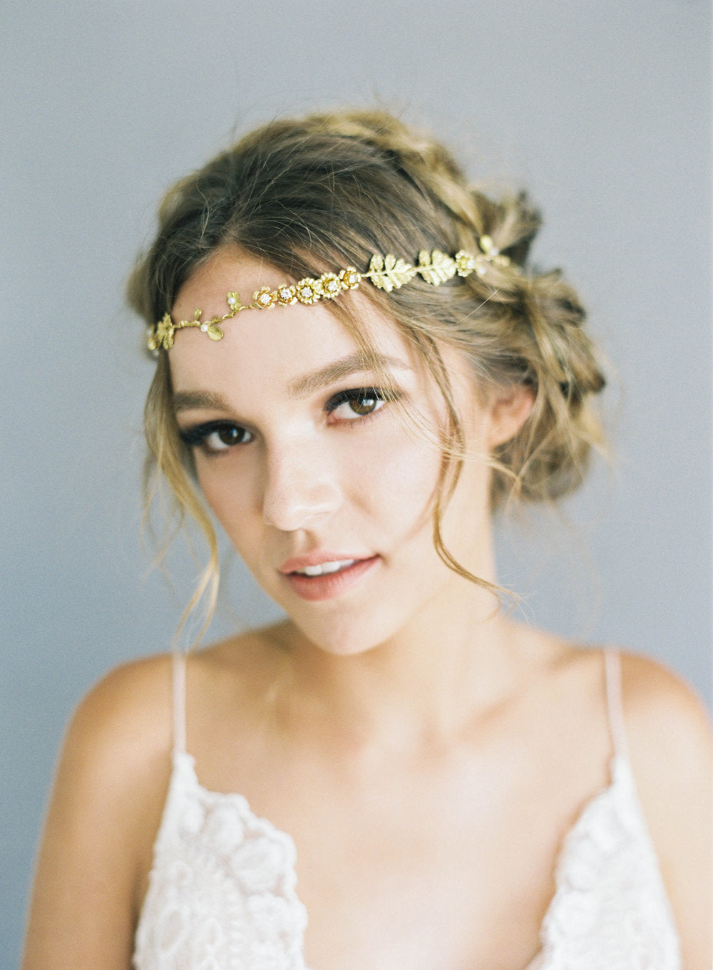 Sydney (gold)-Hair Adornments-Hushed Commotion