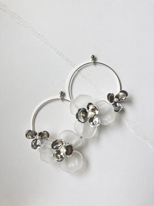 Tami Hoops in Silver