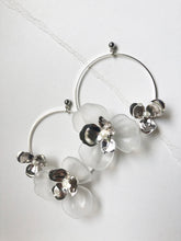 Load image into Gallery viewer, Tami Hoops in Silver