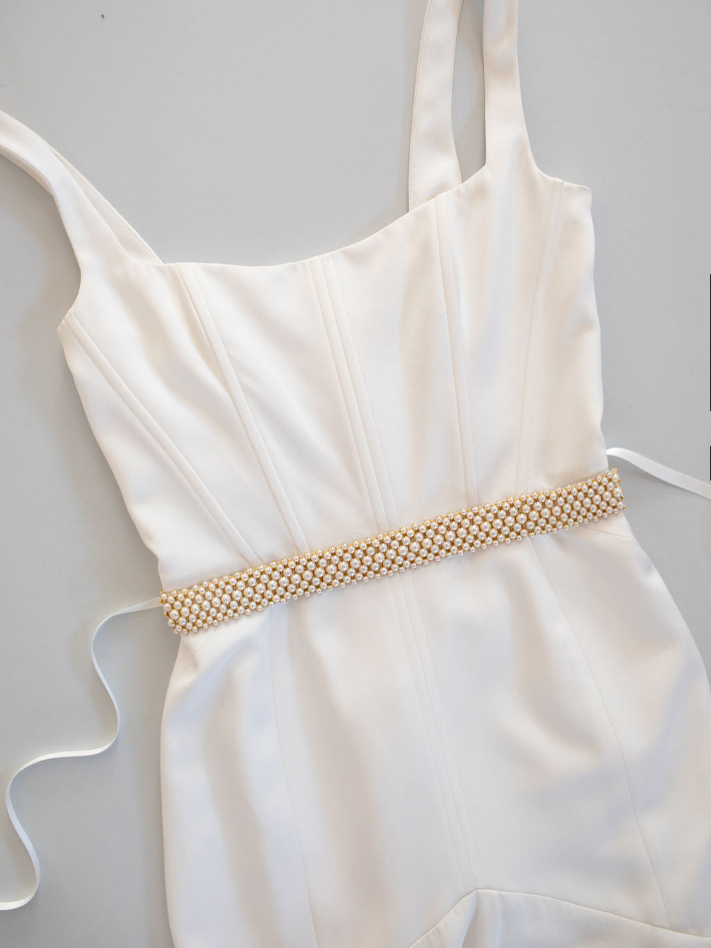 ALASTAIR // Statement Pearl Sash SP2021