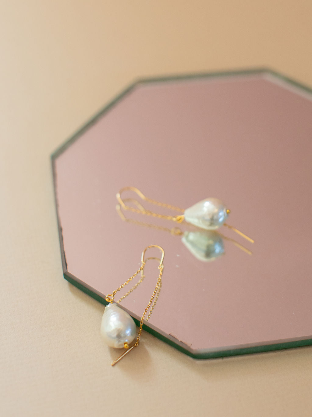 PENNY: Pearl Threader Earring SP2021