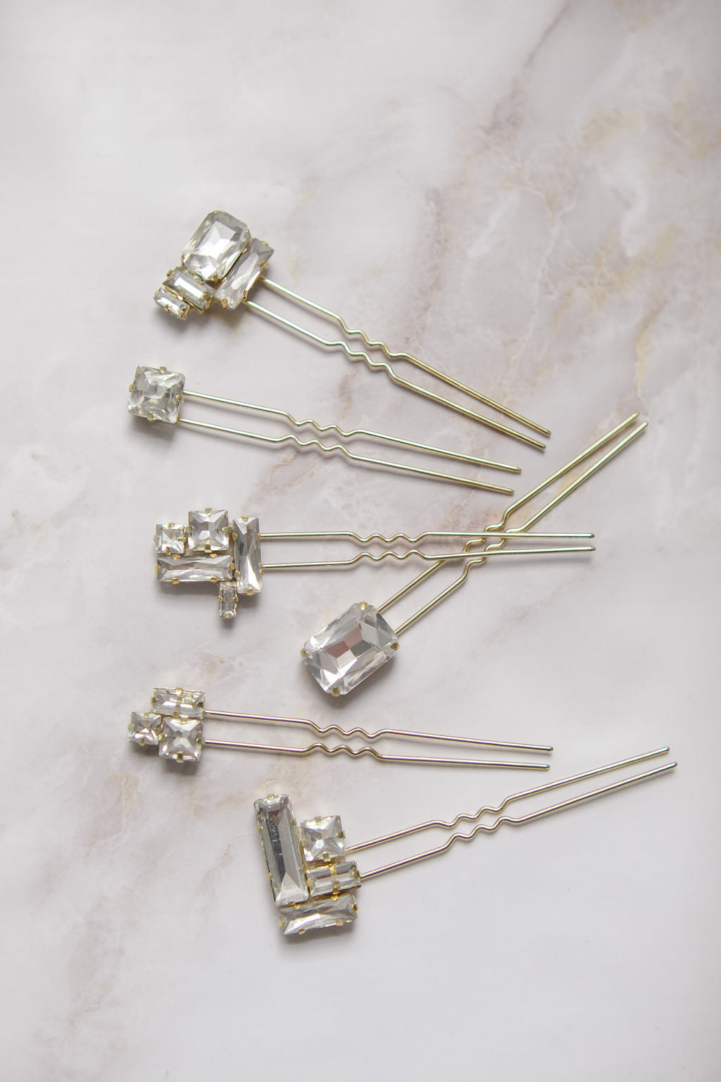 Doris Hair Pins (1 set ready to ship)