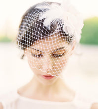 Load image into Gallery viewer, Lila Birdcage Veil-veils-Hushed Commotion
